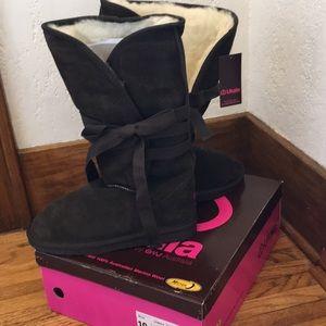 Ukala by Emu Australia Merino Wool Tie Up Boots